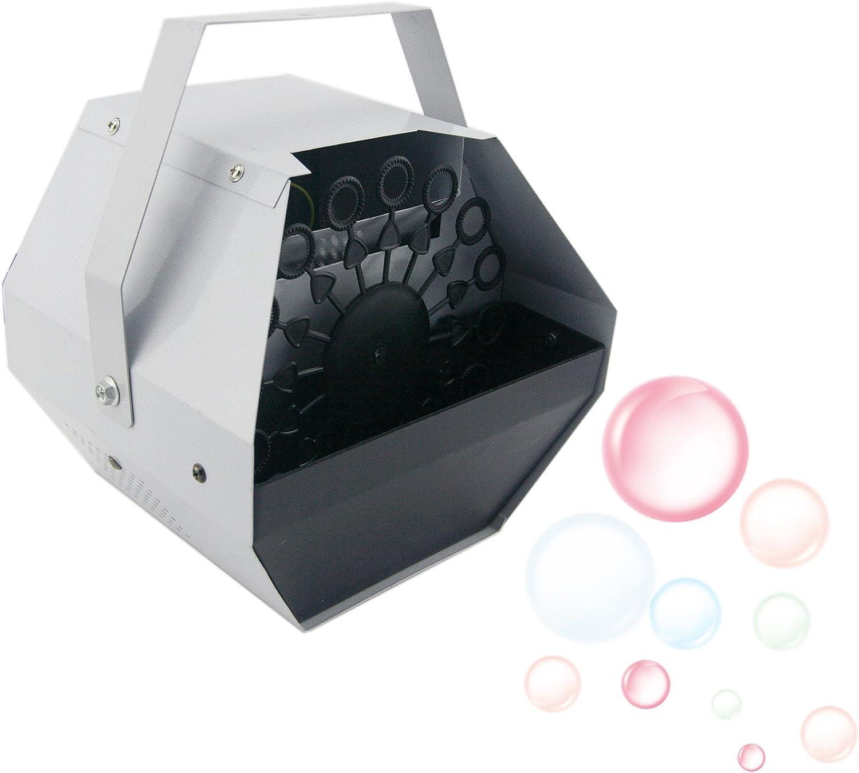 Z ZELUS Máquina de Burbujas de Jabón 0.75L Máquina de Burbujas Portátil Alto Rendimiento y Funcionamiento Silencioso para Fiesta, Escenarios