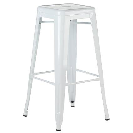 Phenomenal Amazon Com Joseph Allen Home Metal Tolix Style 30 Inch Bar Andrewgaddart Wooden Chair Designs For Living Room Andrewgaddartcom