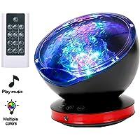 Lámpara Proyector LED,Luz de Noche y Océano +Control