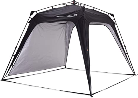 Lumaland x Where Tomorrow Gazebo de Camping – 1 Pared Lateral Incluido - Carpa de jardín – Cenador para Patio – Ideal para Acampada/Festival – ...