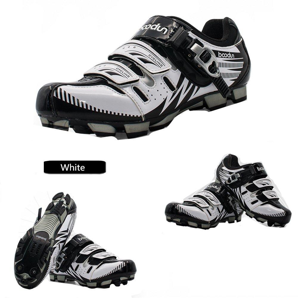 Boodun Elite SPD MTB Radschuhe für Herren Atmungsaktiv Radfahren Neu Mountainbike Deodorant verschleißfeste Stoßdämpfung