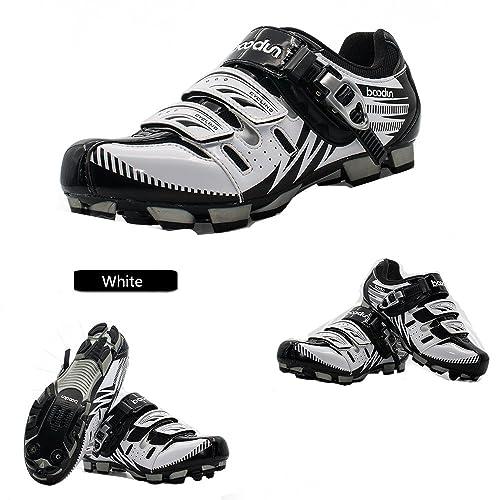 Boodun - Zapatillas de Ciclismo de Sintético para Hombre: Amazon.es: Zapatos y complementos