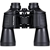 Praktica PRA123 Falcon 10x50mm Porro Prism Coated Binoculars Black