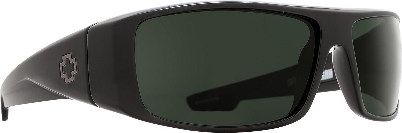 c82f4e3da3 Amazon.com  SPY Optic Logan Wrap Sunglasses  Spy  Clothing