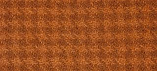 """product image for Weeks Dye Works Wool Fat Quarter Houndstooth Fabric, 16"""" by 26"""", Sweet Potato"""