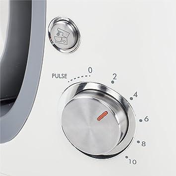 Tristar MX-4181 – Mezclador, 3 accesorios incluidos, color blanco: Amazon.es: Hogar