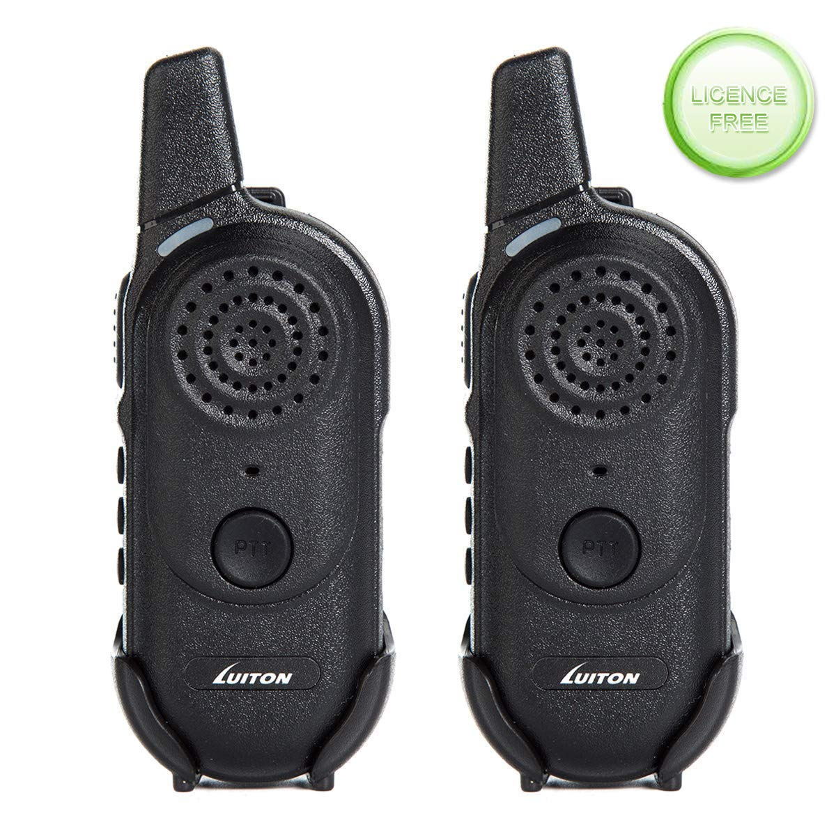 Kids Walkie Talkies,Rechargable Mini Walky Outdoor Toys - Best Gifts for Boys Girls Birthday UHF FRS/Gmrs Two Way Radio 16 Channels Outdoor Camping Long Range 3 Miles Licence Free (Pair) by LUITON