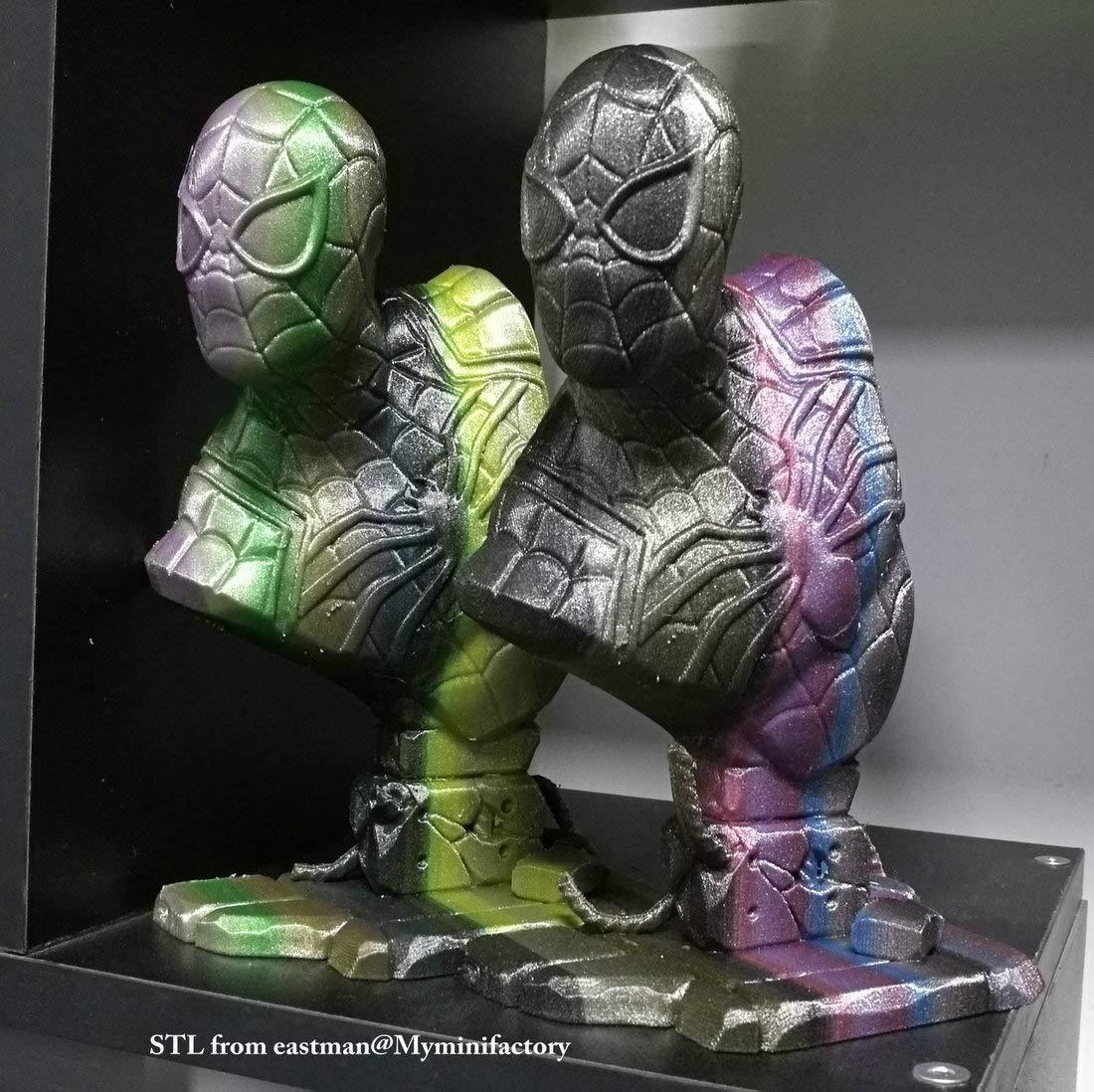 Stronghero3D PLA MetalX Sparkling Rainbow - Filamento de impresión ...