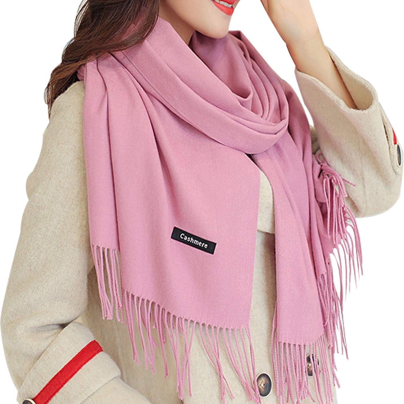 Soft Cashmere Wool Scarf...