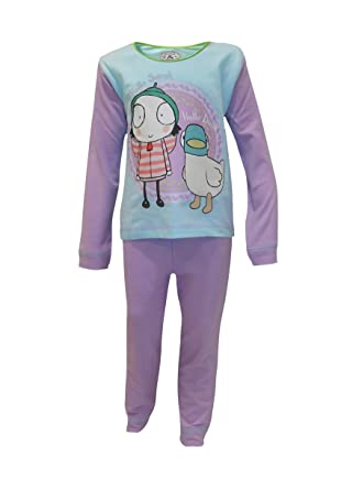Sarah and duck girls pyjamas New Sizes from 12-18 months to 3-4 years