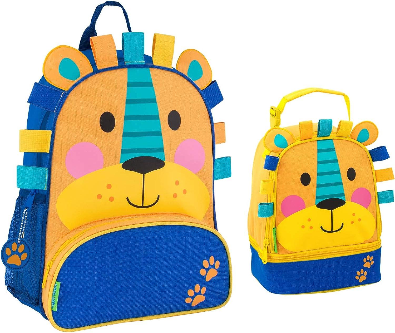 Stephen Joseph Sidekick Lion Backpack and Lunch Box