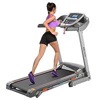 GREENHOW Profi Laufband mit APP, große Lauffläche elektrisches klappbares Treadmill kompakt klappbar Schmiersystem