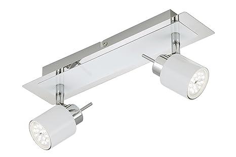 Briloner Leuchten Led Deckenstrahler Deckenleuchte Deckenlampe Spots Wohnzimmerlampe Deckenspot Lampe Kinderzimmer Deckenbeleuchtung