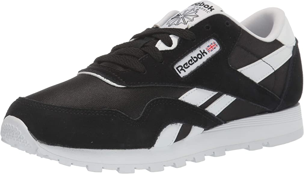 Reebok Cl Nylon, Zapatillas de Trail Running para Niños, Multicolor (Black/White 000), 35 EU: Amazon.es: Zapatos y complementos