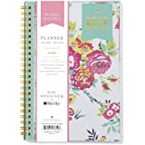 "Day Designer for Blue Sky 2018 Weekly & Monthly Planner, Twin-Wire Binding, 5"" x 8"", Peyton White"
