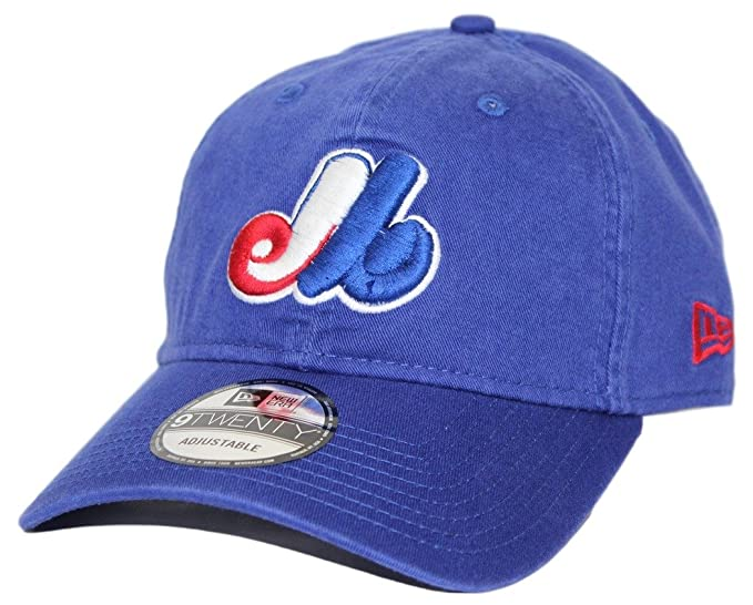 New Era Montreal Expos 9Twenty MLB Core Classic Adjustable Hat - Blue