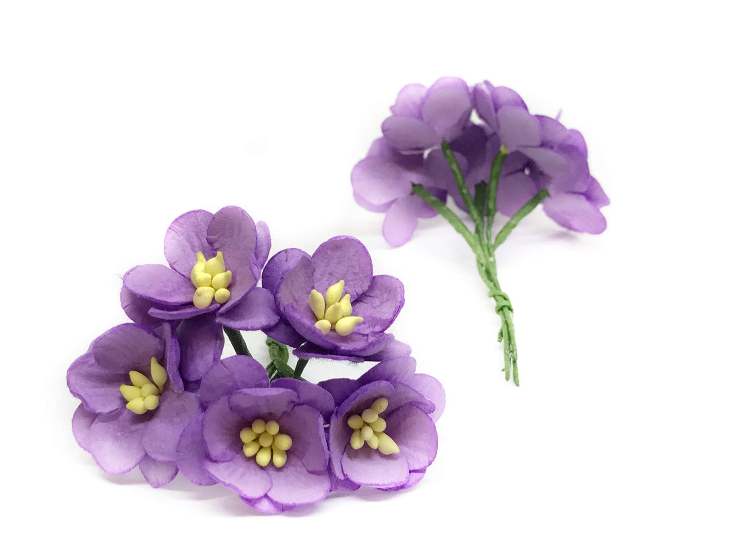 1-Purple-Cherry-Blossom-Flower-Artificial-Flowers-Paper-Flowers-Synthetic-Flowers-Fake-Flowers-Paper-Craft-Flowers-Mulberry-Paper-Flowers-Wedding-25-Pieces