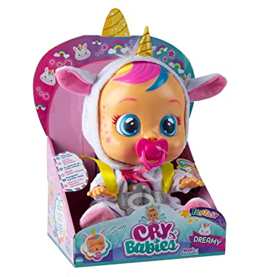 Cry Babies Dreamy The Unicorn: Toys & Games