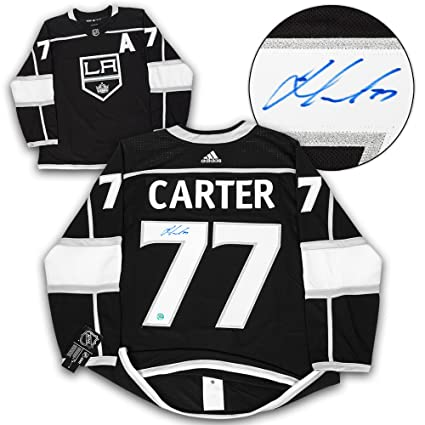 Jeff Carter Los Angeles Kings Autographed Adidas Authentic Hockey ... c0ae9fdd23f