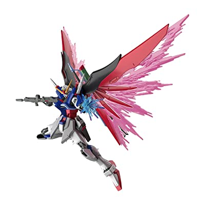 Bandai Spirits Hobby Hgce #224 Destiny Gundam Seed Destiny 1/144 Figure Building Kits, Multicolor: Toys & Games