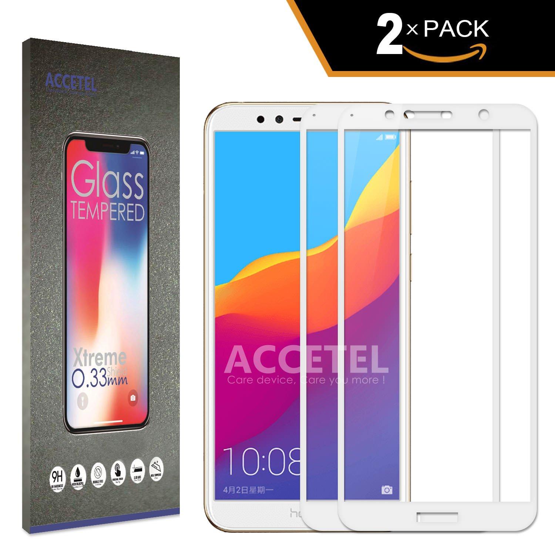 Accetel Huawei Y6 2018/Honor 7A Protector Cristal Templado ...