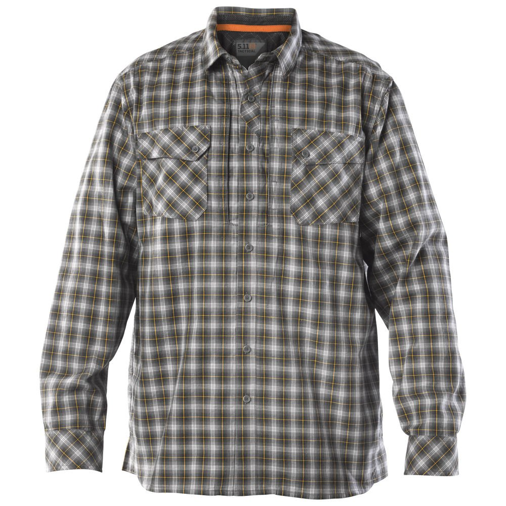 5.11 Mens Flannel Long Sleeve Shirt