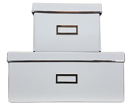 IKEA SMARASSEL caja de almacenamiento para el hogar grande y pequeño par para almacenamiento para el