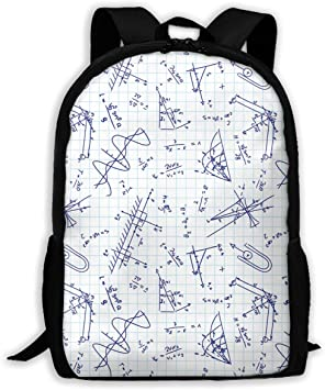 12X17 Adult Casual Backpack School Bags Oxford Laptop Backpack Unisex Travel Daypack