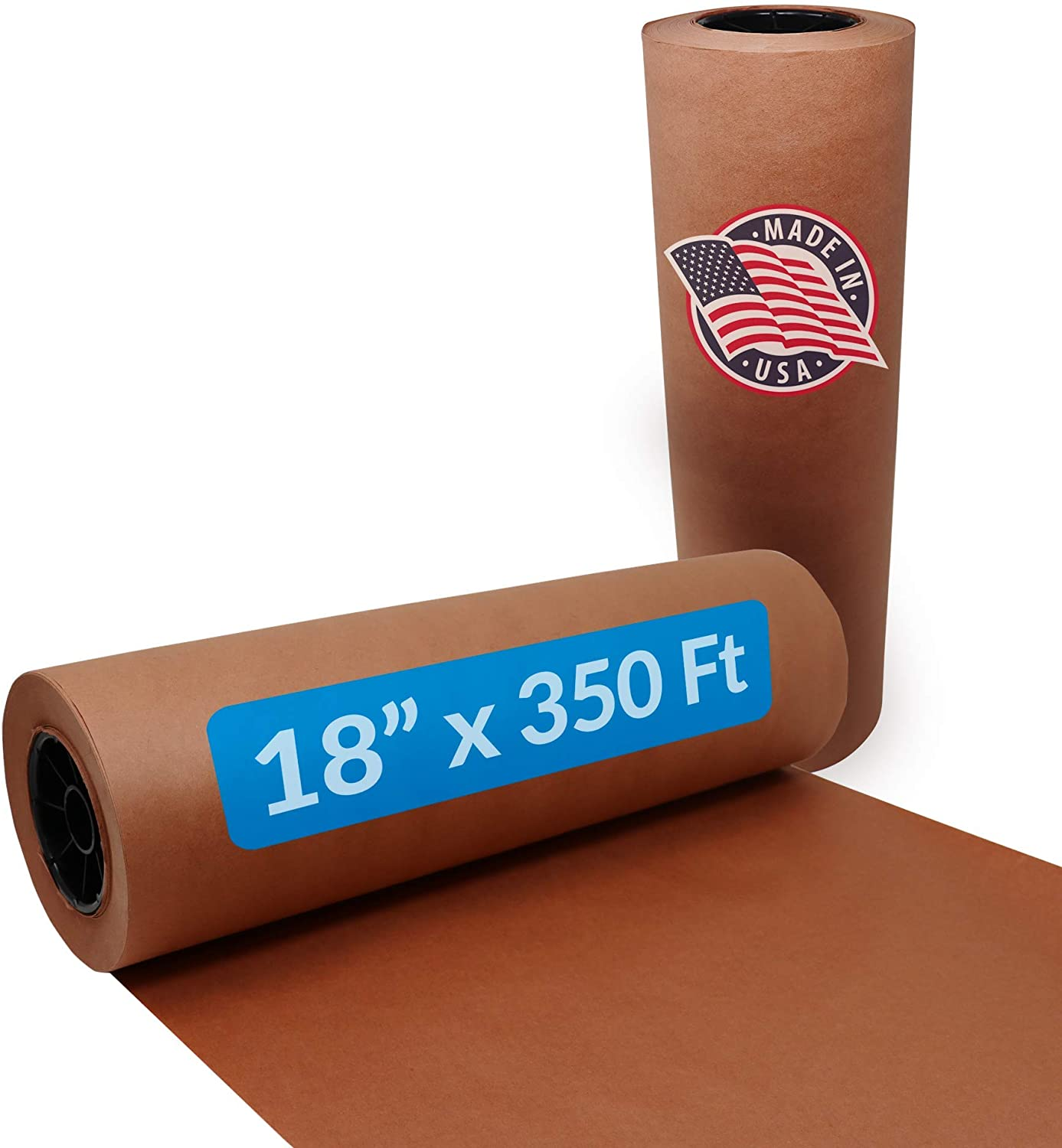 Reli. Pink Butcher Paper Roll | 18 Inch x 350 Feet Bulk | Made in USA | Unwaxed, Peach Butcher Paper for Smoking Meat | Food Grade Kraft Butcher Paper for BBQ, Meat Smoking/Meat Wrapping (Pink)