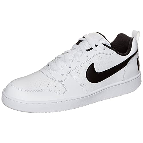 new styles b2a35 10302 Nike Men s Court Borough Low White  Black Casual Shoes-Uk 11  Buy Online at  Low Prices in India - Amazon.in