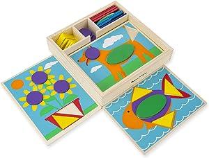 Melissa & Doug Beginner Pattern Blocks
