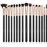 BESTOPE Eye Makeup Brush Set 16 Pcs Professional Eyeshadow Brushes, Premium Synthetic Brush Set for Eye Shadow, Eyebrow…