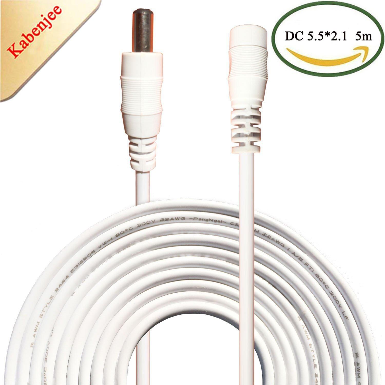 Kabenjee 5m DC-Netzteil-Verlängerungskabel,5.5mm x: Amazon.de ...