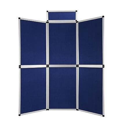 Portable Exhibition Folding Display : Panel lightweight portable exhibition folding display boards