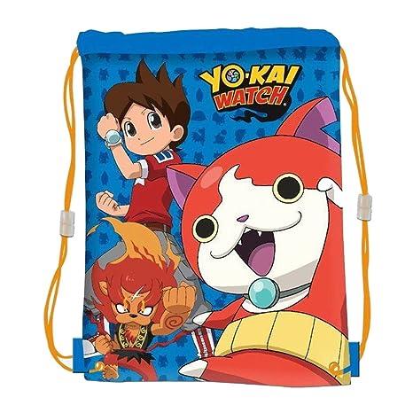 Mochila saco Yo-Kai Watch 41x31cm