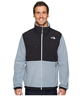8e87411f8 North FACE Men Denali 2 Full Zip Jacket MID Grey