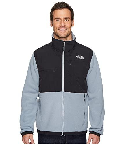 51b8e4e7d4 THE NORTH FACE Denali 2 Jacket Mid Grey TNF Black Men s Coat  Amazon ...
