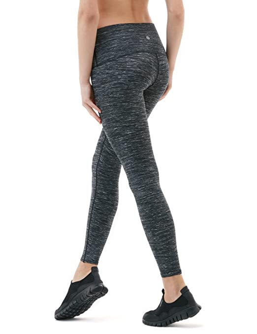 Tesla FYP52 Women/'s High-Waisted Ultra-Stretch Tummy Control Yoga Pants