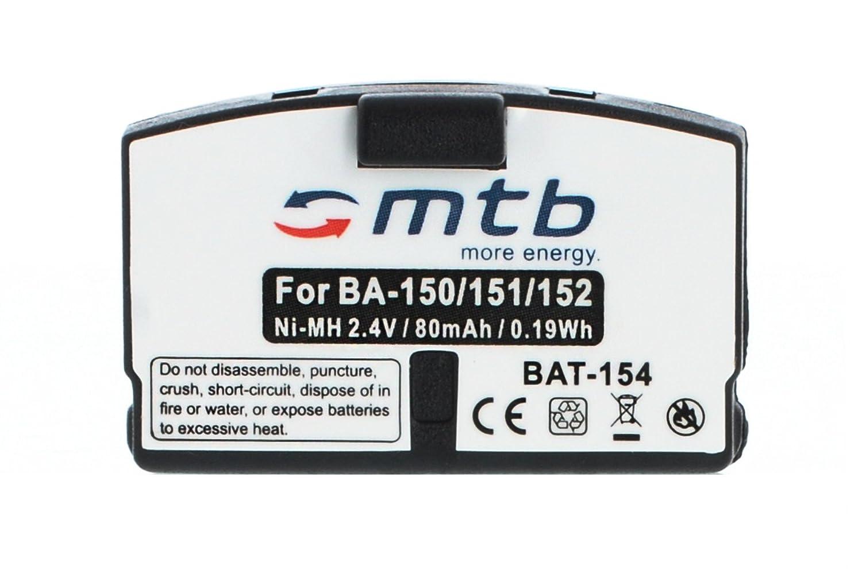 2 x batería BA150 BA151 BA152 para Sennheiser Set./RI./RS./HDI./HDR.//AKG.-Ver Lista.: Amazon.es: Electrónica
