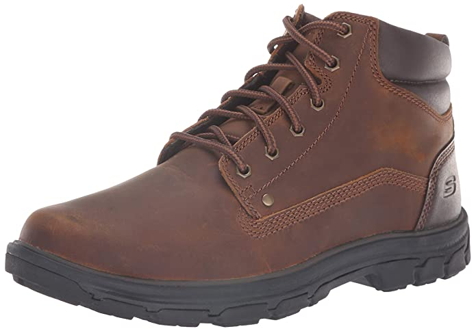 Mens Skechers Relaxed Fit Segment Garnet Boot