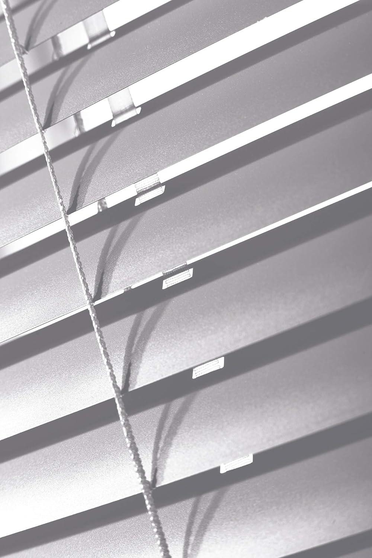 Aluminium Jalousie nach Maß, Endloskette, Kette, Monocomando, Maßanfertigung, Maßanfertigung, Maßanfertigung, für Fenster und Türen, Alu, Fenster, Klemmfix ohne Bohren (Türkis, Höhe  160cm x Breite  100cm) 261048