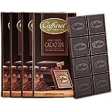 Caffarel 口福莱 排装70%可可黑巧克力100g*4(意大利进口)(亚马逊自营商品, 由供应商配送)