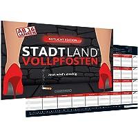 DENKRIESEN - Stadt Land VOLLPFOSTEN® - ROTLICHT Edition - AB 16 Jahren