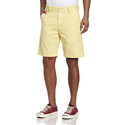 Lee Men's Essential Flat Front Short at Amazon Men's Clothing store: White Shorts