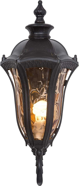 Yosemite Home Decor FL326MUWB 1 Light Exterior Lighting, Oil Weathered Bronze