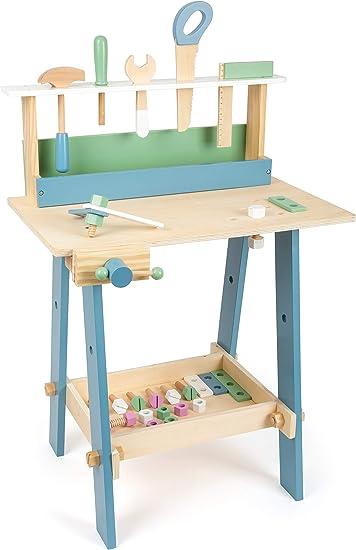 Banco Da Lavoro Per Bambini 97 Pezzi Attrezzi E Accessori Giocattolo Sega Chiavi