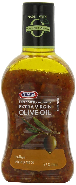 Amazon.com : Kraft Salad Dressing, Italian Vinegrette with Extra ...