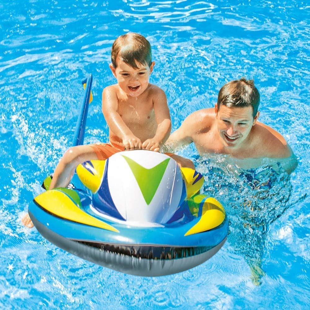 QXFJ Flotador Inflable,Montaje De Dirigible Inflable Juguete Inflable AcuáTico para NiñOs Soporte De Surf para Lancha Motora Fila Flotante para Nadar