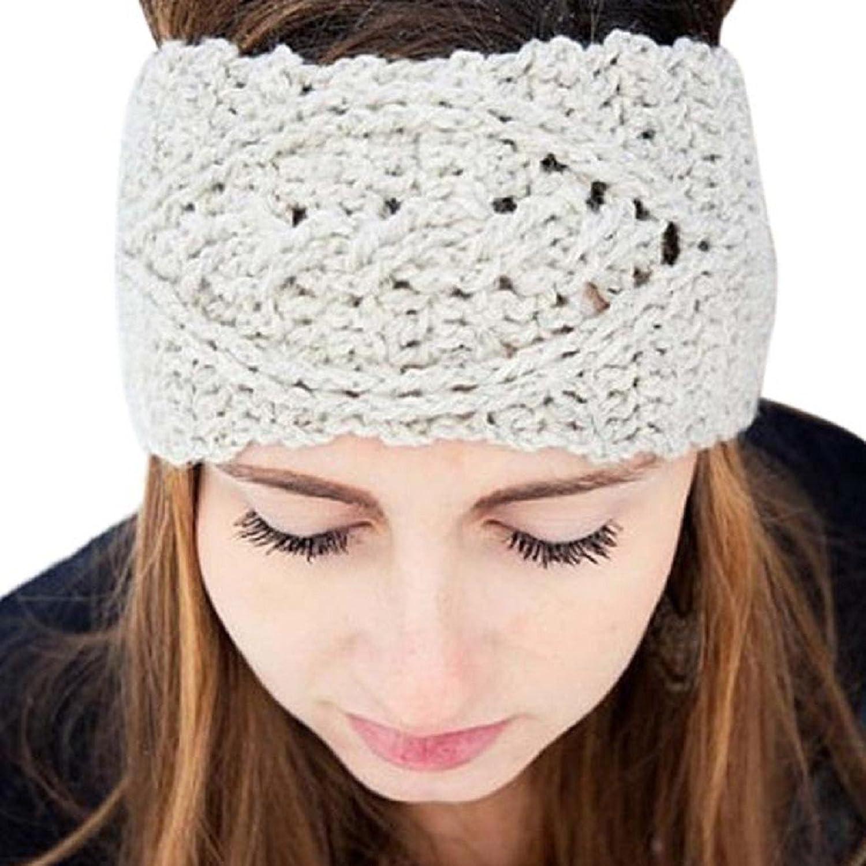 Loveso-Mütze Mode Frauen-Winter-warme Hut-Ski-Kappe Gestrickte Leere Schädel Mütze Stirnband