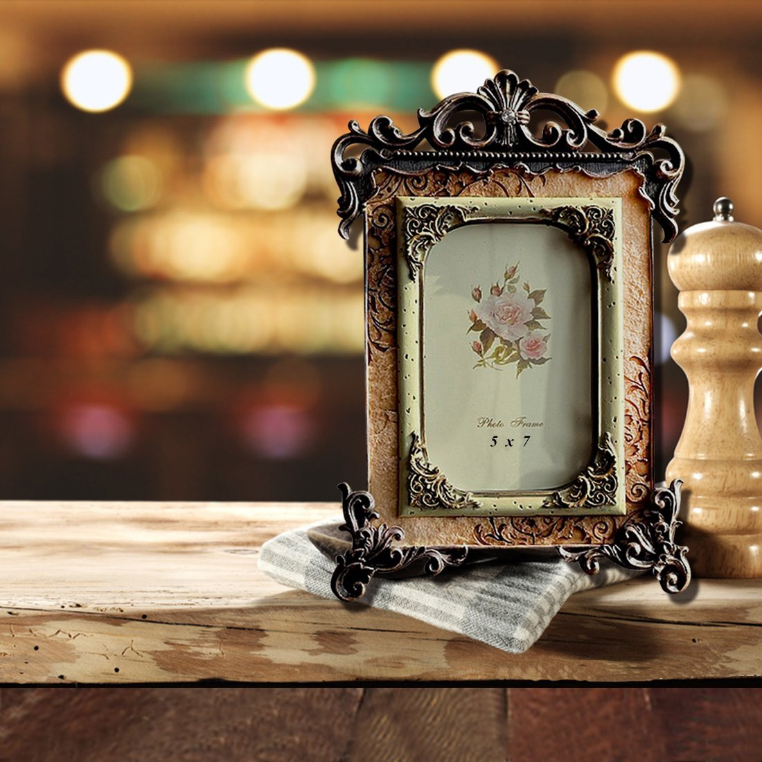 Amazon gift garden 5 by 7 vintage picture frames friends amazon gift garden 5 by 7 vintage picture frames friends gifts for photo 5x7 inch jeuxipadfo Images